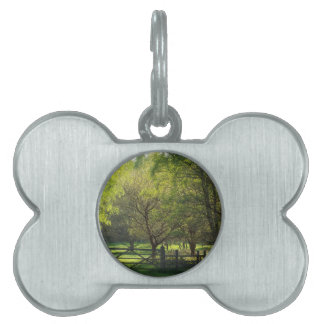 Country Scene Pet ID Tags