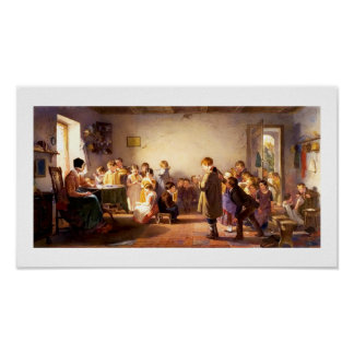 """Country School"" by Winslow Homer. Fine Art Print"