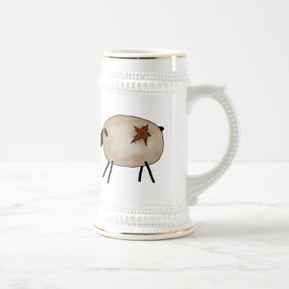 Country Sheep Beer Steins