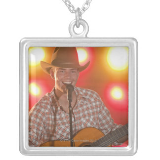 Country singer custom necklace
