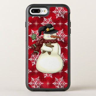 Country Snowman Holiday iPhone 7 plus case