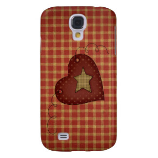 Country Star Heart 3G/3GS Galaxy S4 Case