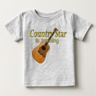 Country Star in Training Baby T-Shirt