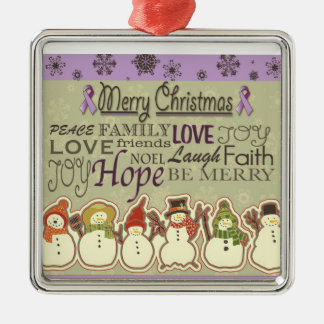 Country Style Pancreatic Cancer Ornament