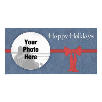 Country Style Photo Christmas card