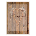 Country Style Rustic Angel Wings Wedding