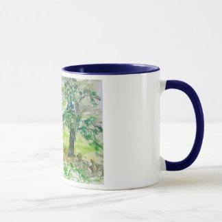 country summer day mug
