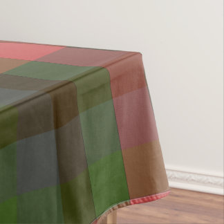 Country Summers Plaid Tablecloth