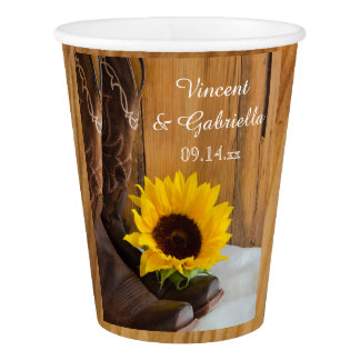 Country Sunflower Western Wedding