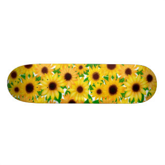 Country Sunflowers Skateboard