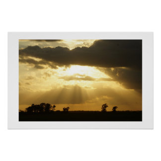 Country Sunset Posters