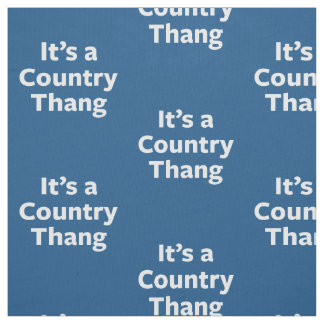 Country Thang Fabric