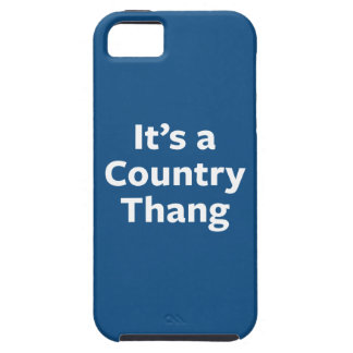Country Thang Tough iPhone 5 Case
