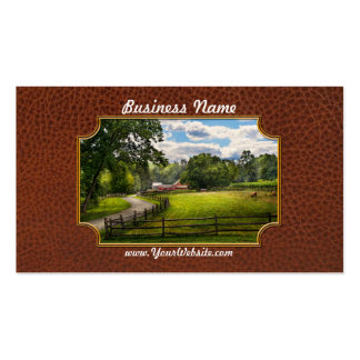 Country - The pasture Business Card Template