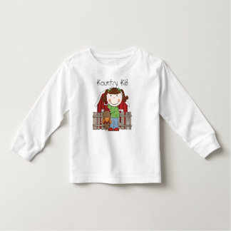 Country Theme Kountry Kid, Barn T-Shirt
