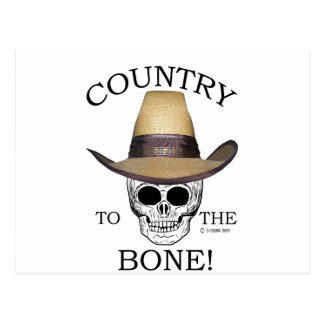 Country To The Bone Postcard