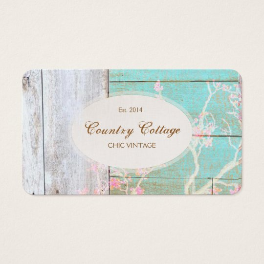 Country Vintage Shabby Rustic Wood Chic Boutique Business