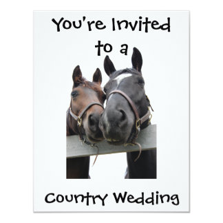 Country Wedding Card