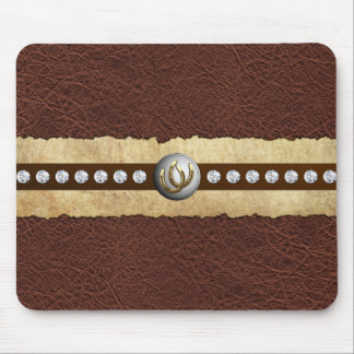 Country Western BLING Mouse Mat