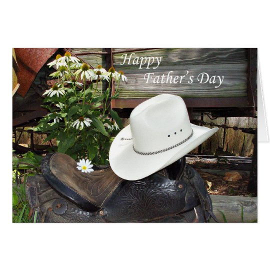 Country Western Father's Day card