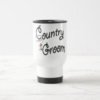 Country Western Groom Coffee Mugs