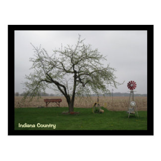 countryliving, Indiana Country Postcard