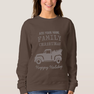 Countryside Christmas Sweater | Personalize It!