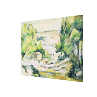 Countryside in Provence Canvas Prints