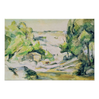 Countryside in Provence Poster