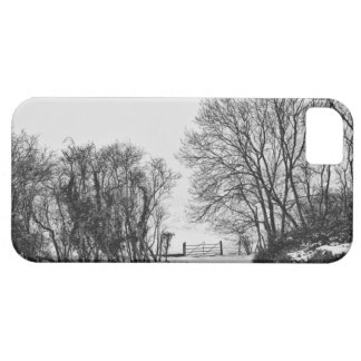Countryside in the Snow iPhone 5 Cases
