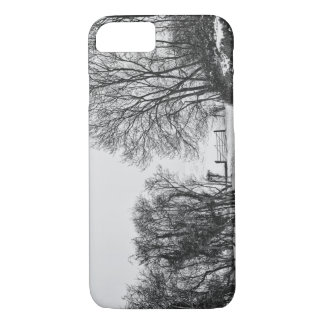 Countryside in the Snow iPhone 7 Case