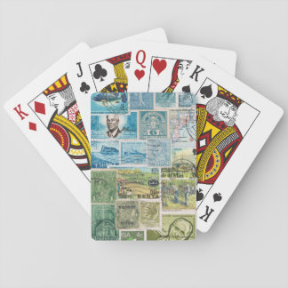 Countryside Landscape Playing Cards, Boho Travel Playing Cards