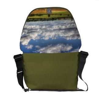 Countryside Landscape Vista Courier Bag