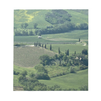 Countryside near Montepulciano, Val d'Orcia, Notepad