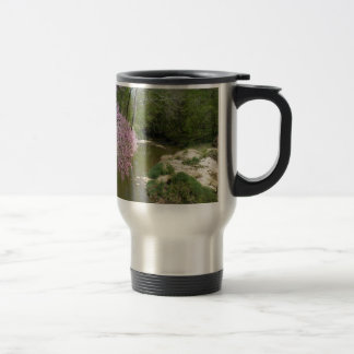 Countryside Stream Stainless Steel Travel Mug