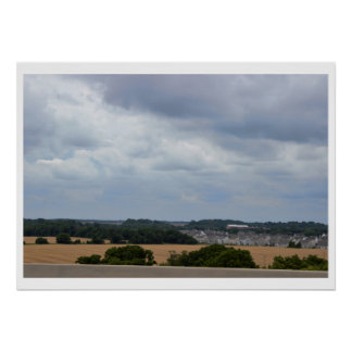 Countryside View Photo Poster