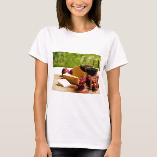 Countryside Wine, Cheese & Fruit T-Shirt
