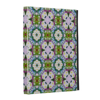Countrystile spring flowers pattern No10 iPad Case