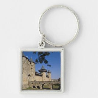 Counts Castle, Carcassonne, Aude, Languedoc, Key Ring