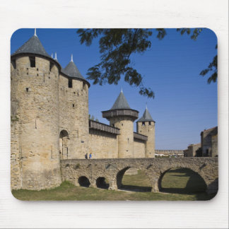 Counts Castle, Carcassonne, Aude, Languedoc, Mouse Mat