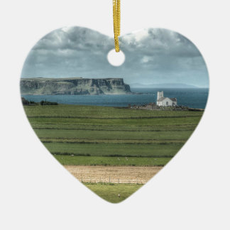 County Antrim's Coastal Causeway, Northern Ireland Christmas Ornament