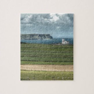 County Antrim's Coastal Causeway, Northern Ireland Jigsaw Puzzle
