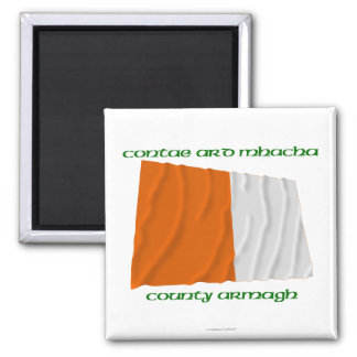 County Armagh Colours Refrigerator Magnet
