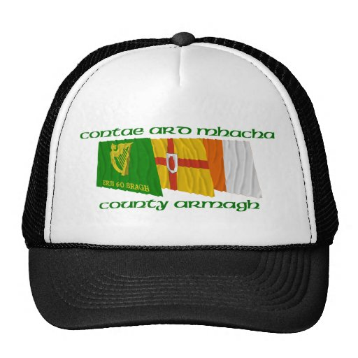 County Armagh Flags Mesh Hats