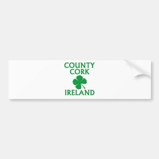 County Cork, Ireland Bumper Stickers