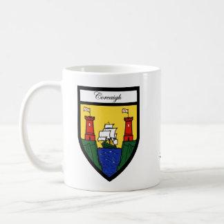 County Cork Map & Crest Mugs