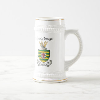 County Donegal Beer Stein