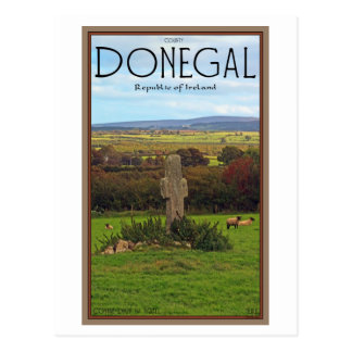 County Donegal - Stone Cross Postcard