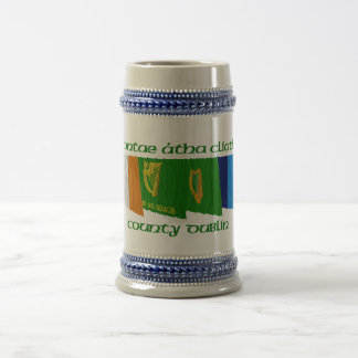 County Dublin Flags Beer Stein