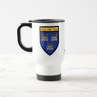 County Dublin Map & Crest Mugs